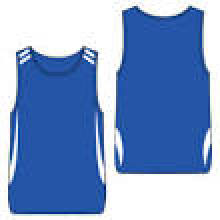 Heißer Verkaufs-Qualitäts-100% Polyester-Noten-Fußball Mens-Unterhemd
