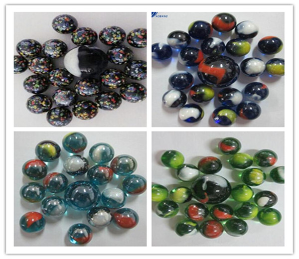 Cheap glass marbles AB RGL