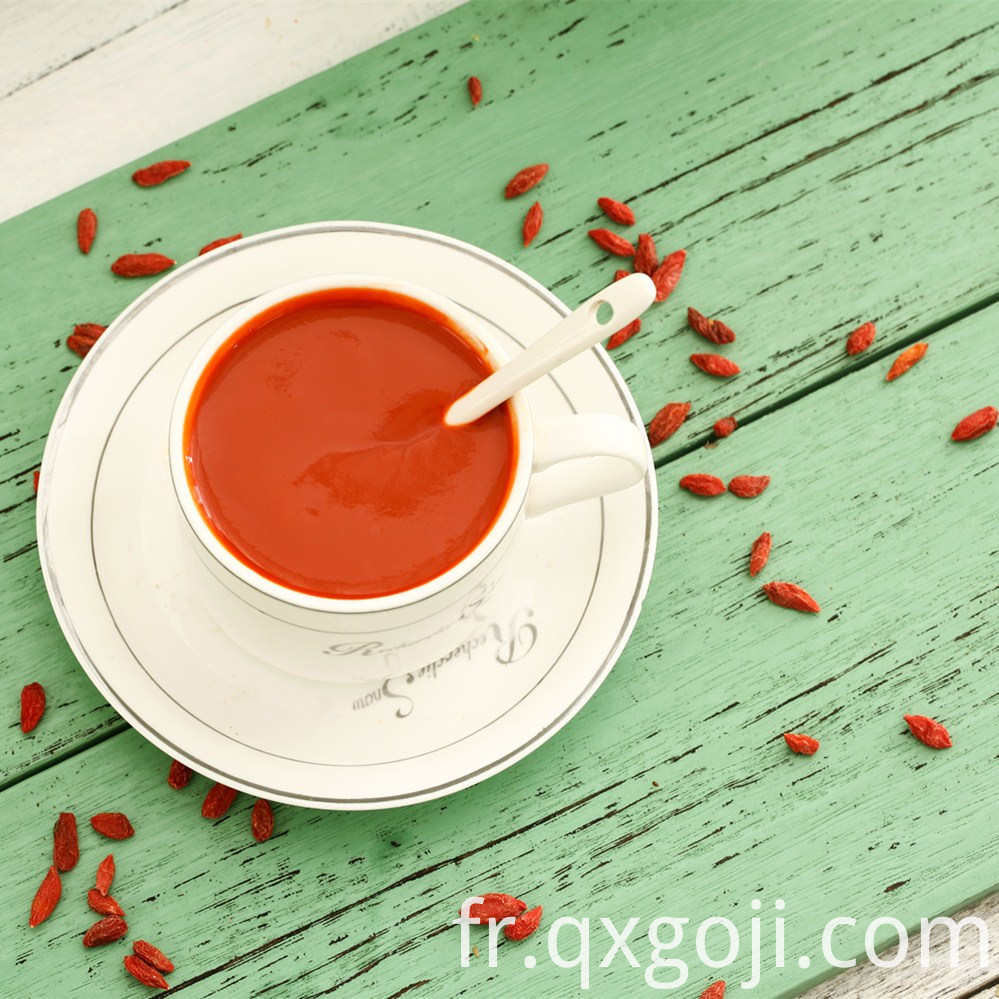 Wholesale Goji Berry Juice Concentrate