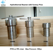100ml Laboratory Hydrothermal Synthesis Autoclave Reactor