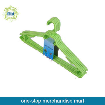 5pc plastic short clothes hanger