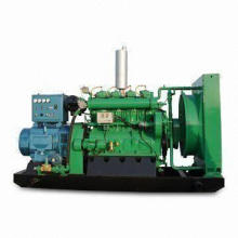 Natural Gas Generator Set with Power from 10 to 1,100kW and 50Hz Frequency