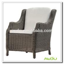 Cadeira de jardim Audu, cadeira de jardim ampla poltrona