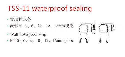 Glass Waterproof Pvc Seal Strip