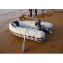 Barco inflável pequeno costela pesca barco Firberglass