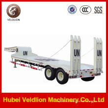 2 Axles 30ton Low Bed Semi Trailer with Good Price