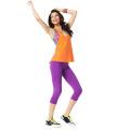 Sublimated Tank Tops y Pantalones de Yoga Venta al por mayor Ropa Fitness Ropa Yoga (YG-45)