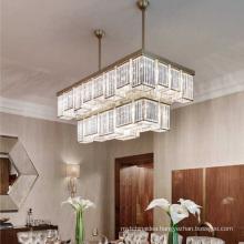 Modern Led Chandelier For Living room Rectangle Shape Chandelier Lighting Fixtures
