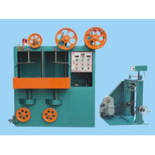 Double Layer Vertical Wrapping Wire Taping Machine With 1hp+1hp Frequency Control Motor