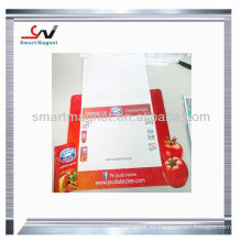 Imán magnético en blanco promocional de la tarjeta de
