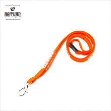 Porta Gafetes/Keycord/Tube Lanyard/Laniard with Metal Lobster Claw Clip