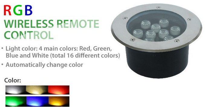 outdoor led underground light