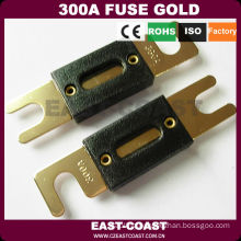300A FLAT FUSE GOLD PLATED