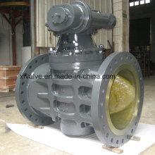 Diâmetro grande engrenagem Tipo de mangueira Válvula de encaixe de flange