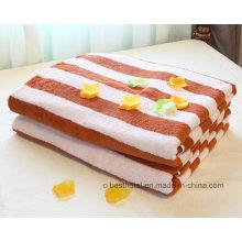 Toalha de banho de hotel 100% algodão branco 500g 70cm X 140cm