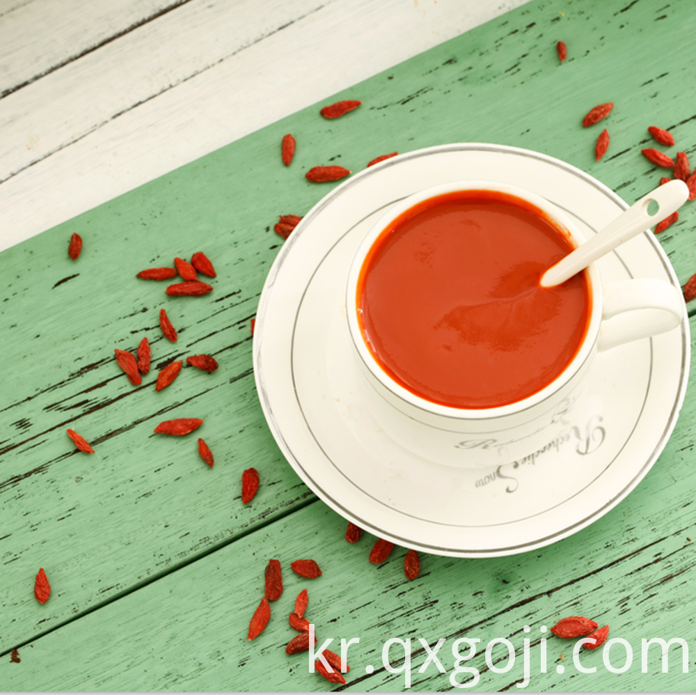 Goji Juice Concentrate Wholesale