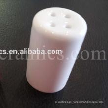 Tampa de cerâmica de alumina para o terminal isolante da lâmpada do aquecedor