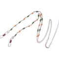 Forme la cadena moldeada de los vidrios del cuello de la piedra preciosa del estilo bohemio