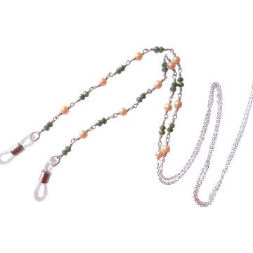 Мода Богемный Стиль Драгоценный Камень Бисером Очки Шеи Цепь