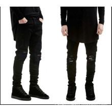Tide Brand Men's Black Slim Pencil Jeans