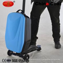 Scooter bleu de valise de voyage d'affaires de Cw-Ss-D bleu foncé