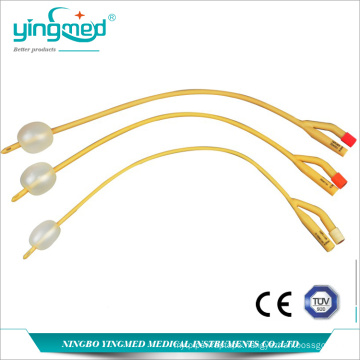 Disposable Latex 2 way Foley Catheter