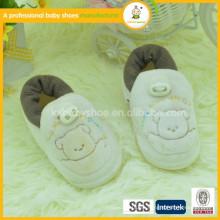 Zapatos de seguridad de los niños cómodos de la tela de algodón de los zapatos al por mayor de la aduana de la mano única muy suave
