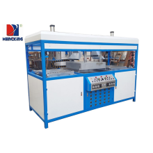 Low Cost for Double Stations Vacuum Forming Machine Double stations plastic vacuum molding machine export to France Suppliers