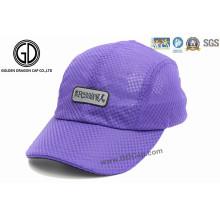 Plegable impermeable de poliéster de béisbol al aire libre sombrero gorra deportiva