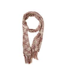 Longue écharpe tricotée Space Dye à pampilles pour femmes