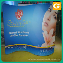 Vertical pop up banner printer