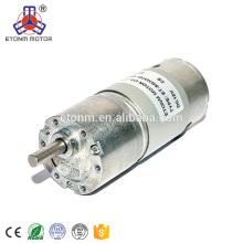 high torque 12v 37mm dc gear motor for towel dispenser