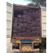 Shoddy fieltro Pad / reciclado colchón fieltro con el precio más barato en China