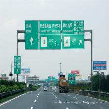 Lámina reflectante de revestimiento reflectante para señales de tráfico