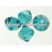 Granos de esmeralda de 8mm, granos de bicona, granos de venta al por mayor para la venta