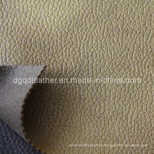 Eco-Friendly Breathable PU Furniture Leather (QDL-FB0016)