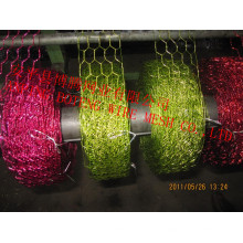 Malla de color usada para decorar