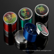 Handsome Face Smoking Crusher Metal Herbel Grinder for Cigarettes Accessories (ES-GD-003)