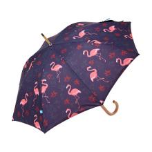 Flamingo nuevos productos 2018 buena calidad Heat Transfer Imprimir hermoso paraguas