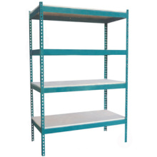 Good quality adjustable steel shelving storage rack shelves,Boltless rivet shelving/Steel shoe rack rivet shelving for sale