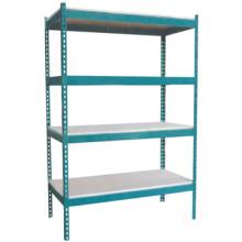 Good quality adjustable steel shelving storage rack shelves,Boltless rivet shelving/Steel shoe rack rivet shelving for sale