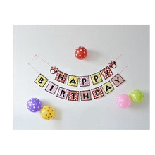 Birthday Party Alphabetic String Banners, Hung Creative Dance Decor Banners