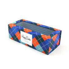 Горячие окна ПВХ одежды упаковка складывая бумажная коробка