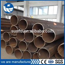 Carbono soldado ASTM A53 A500 Gr.B Tubo de acero LSAW en China