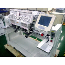 Machine de broderie de chapeau d'écran tactile de la tête de la tête double de sagesse Dahao