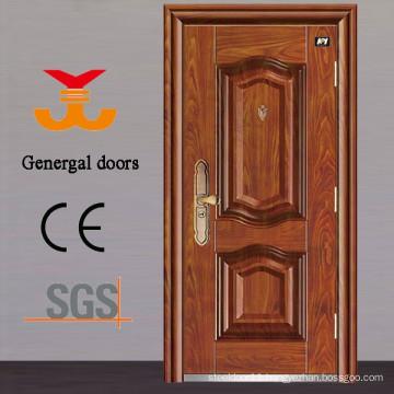PU foam Exterior Thermal insulated Steel doors