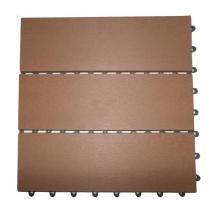 30*30mm DIY Tile / WPC Terrace Floor Tiles / Outdoor Waterproof Wooden Composite
