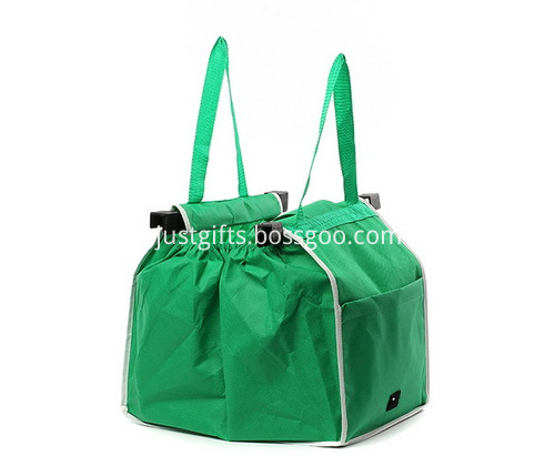 Promotional Shopping Cart Grab Bags Made Of Non Woven Fabric (2)