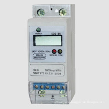 Single Phase DIN Rail Electronic Energy Kwh Meter