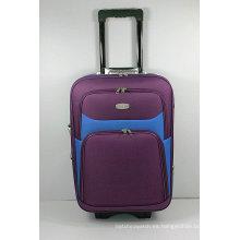 Shantung de seda de la carretilla de EVA externa de viaje de la maleta del equipaje